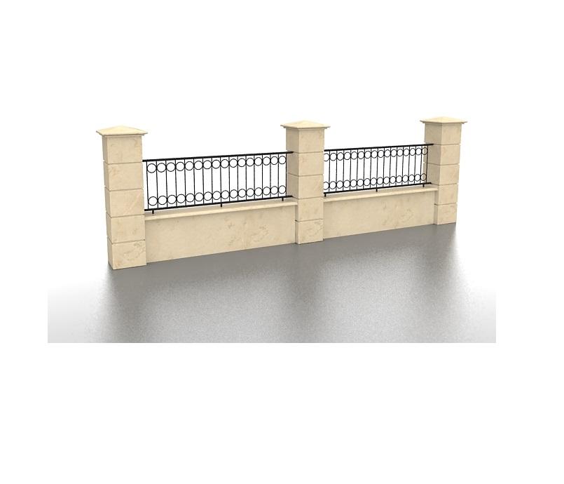 Gard Fier Forjat, Modelul:5