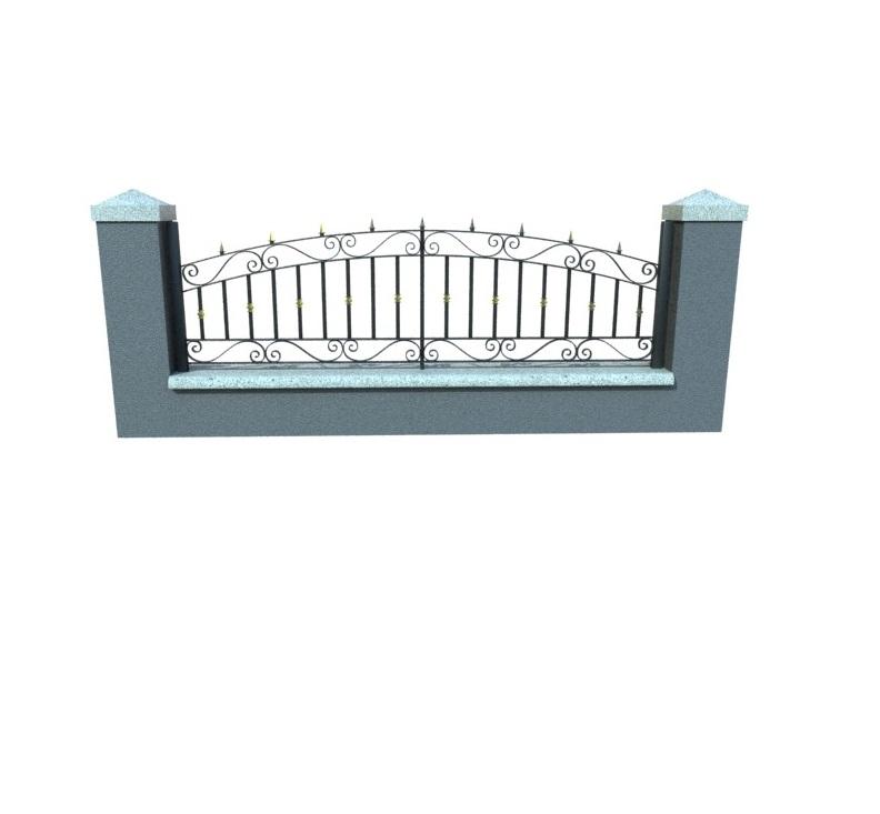 Gard Fier Forjat, Modelul:2