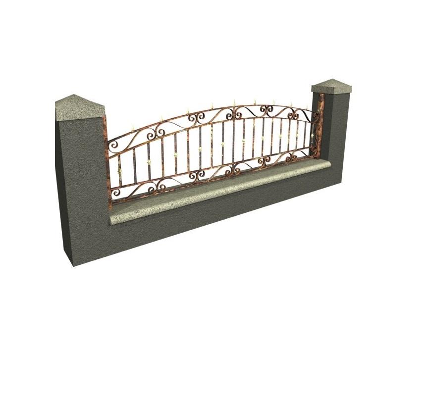 Gard Fier Forjat, Modelul:3