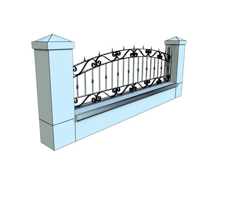 Gard Fier Forjat, Modelul:4