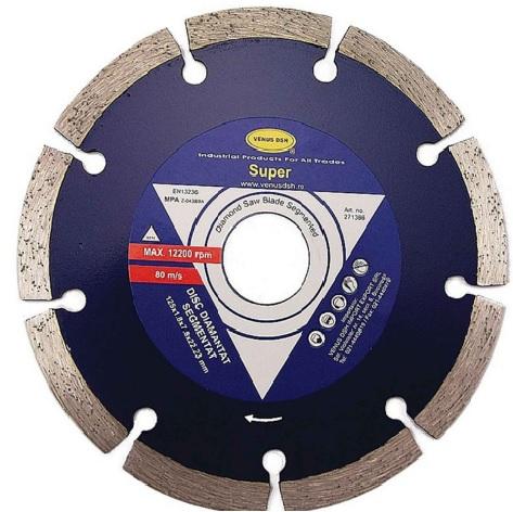 DISC DIAMANTAT SEGMENTAT - 115X1.8X7.8X22.23 MM 271359