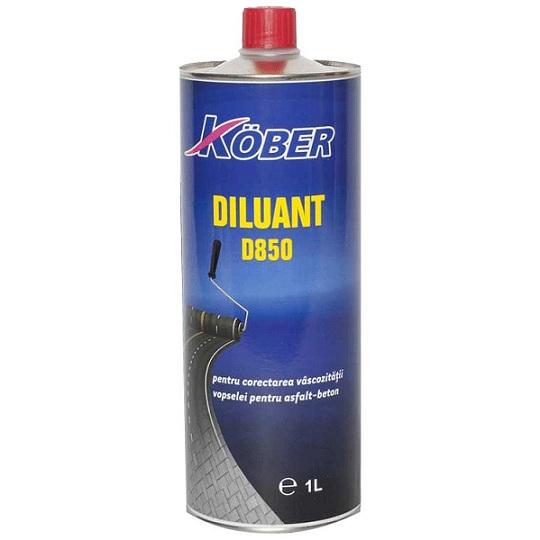 Diluant D850 pentru vopsea asfalt sau beton 1 L Kober D850-C1L