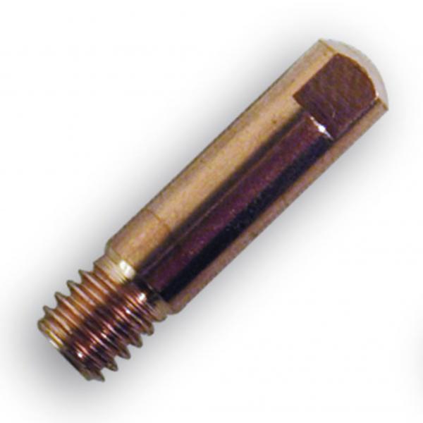 Duza de contact sarma de otel 0.6 mm, M6 x 25 mm