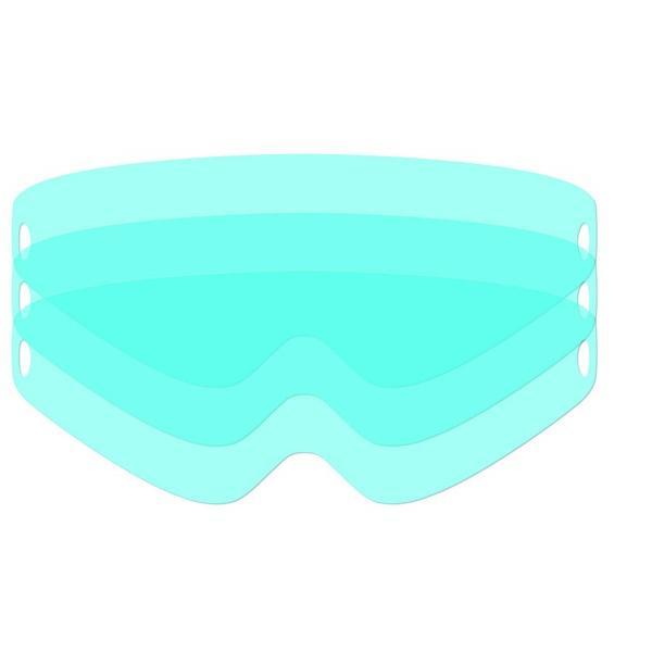 Geam plastic protectie exterioara 345x140mm