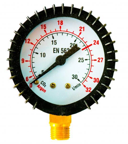 Manometru (ceas) debit Ar-CO2