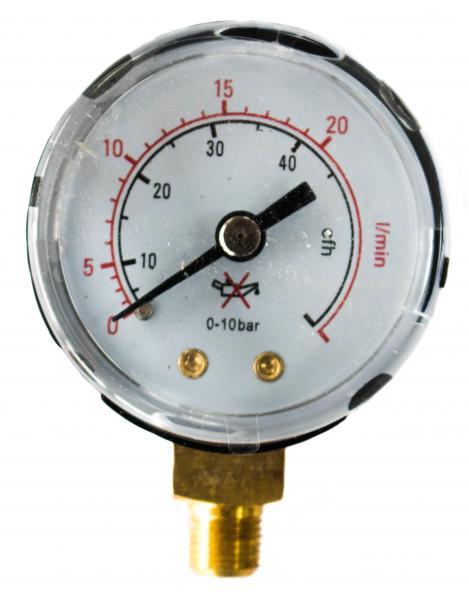 Manometru (ceas) MINI debit Ar-CO2