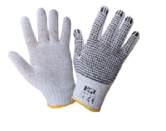 Manusi gradina punct negru tricotate M:10 COD:645048