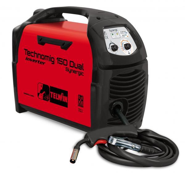 TECHNOMIG 150 DUAL SYNERGIC - APARAT DE SUDURA TELWIN tip MIG-MAG