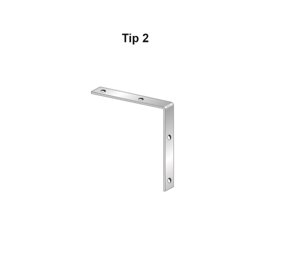 Coltar zincat, Tip 2, Cod Produs: AF.TC202S