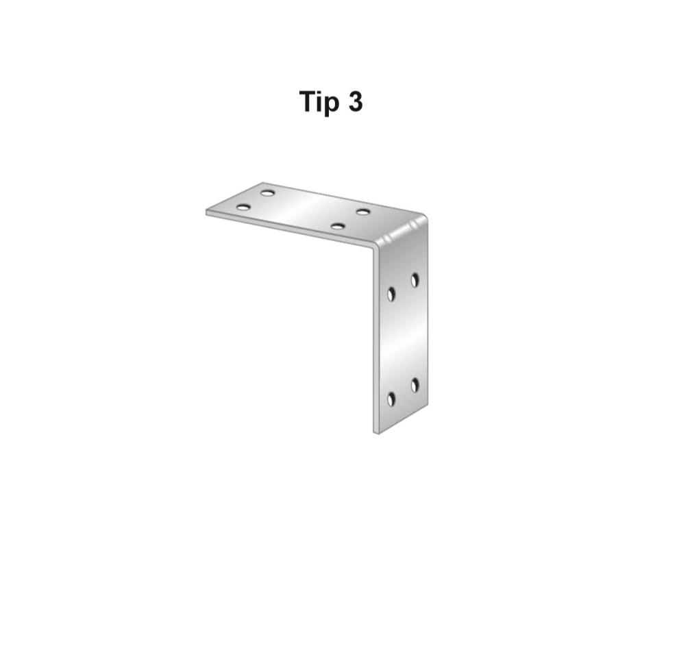 Coltar zincat, Tip 3, Cod Produs: AF.TC302S