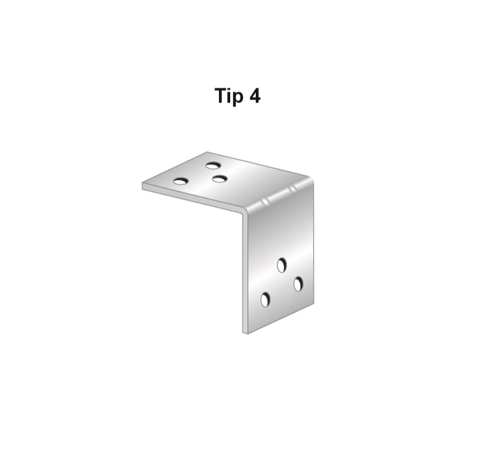 Coltar zincat, Tip 4, Cod Produs: AF.TC404S