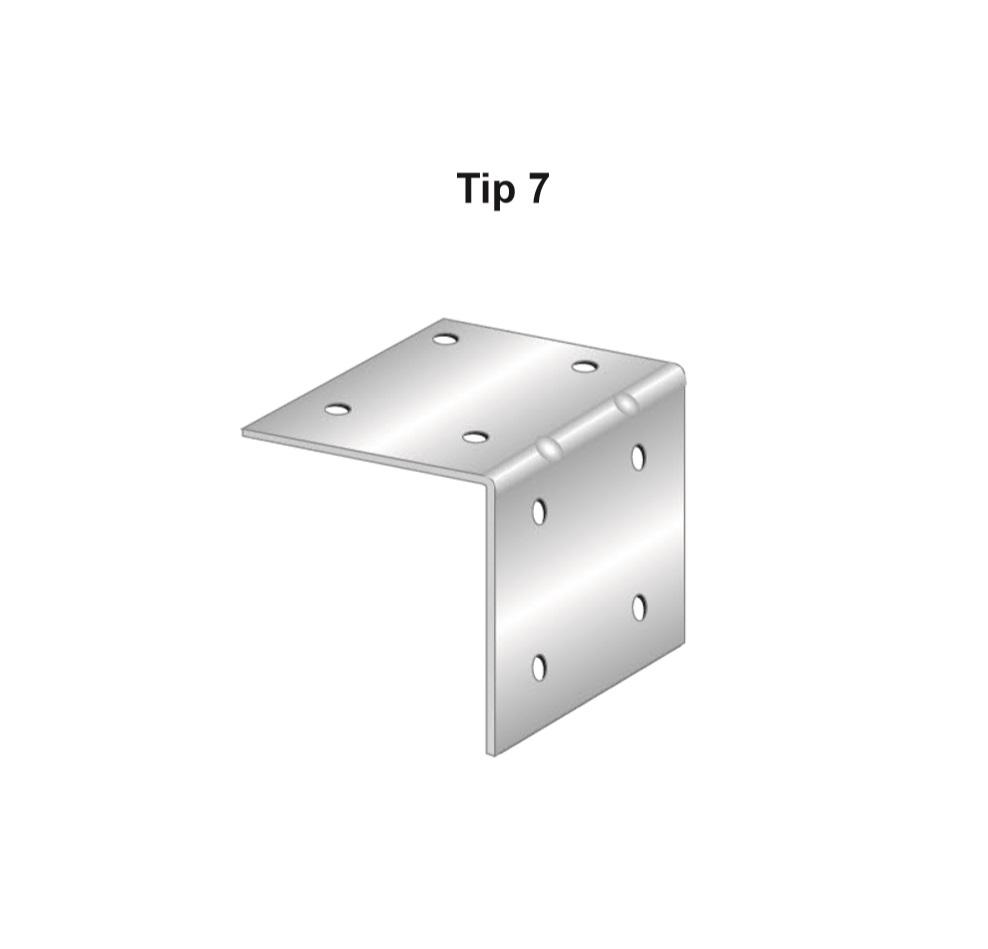 Coltar zincat, Tip 7, Cod Produs: AF.TC706S